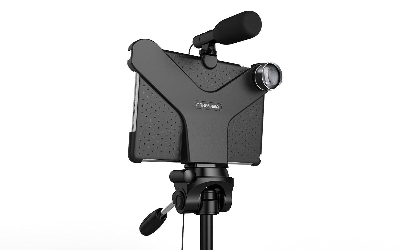 Soporte de película para iPad Air/Pro con lente y micrófono ...