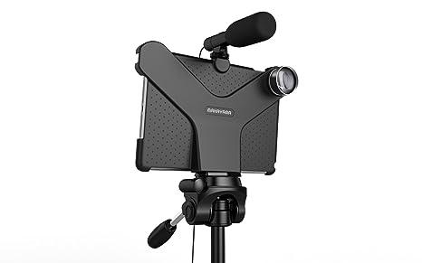 Soporte de película para iPad Air/Pro con lente y micrófono