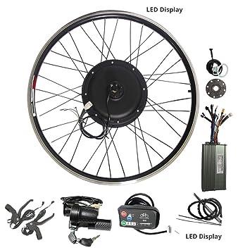 WENHU Kit de conversión 20-29 Pulgadas 700C Bicicleta eléctrica ...