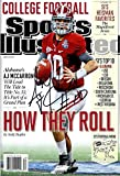 "A.J. McCarron ""How They Roll"" Sports Illustrated Autograph Replica Poster - Alabama Crimson Tide"
