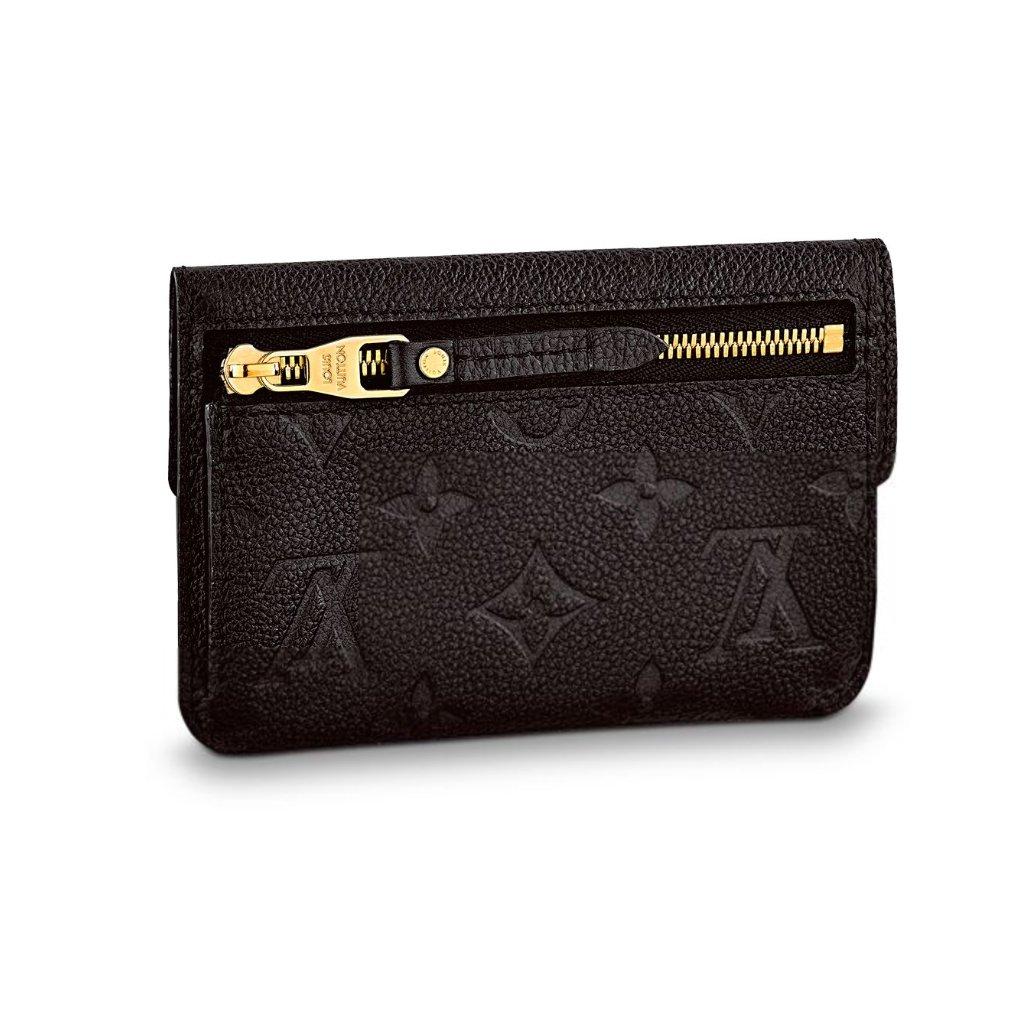 120abc4493c3 Louis Vuitton Monogram Empreinte Leather Key Pouch Noir Article  M60633 at  Amazon Women s Clothing store