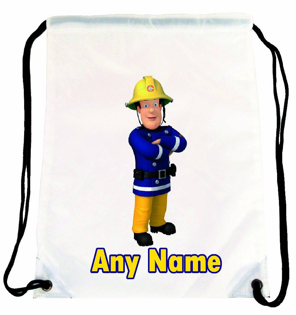 9acdaa4798 Fireman Sam Personalised Gym Sports PE Dance School Nursery Bag Shires