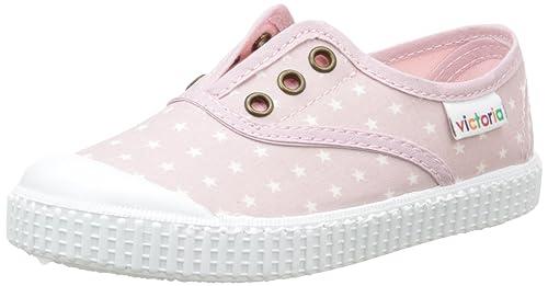 Victoria Inglesa Estrellas Elast. - Zapatillas Niños-Niñas, Rosa (Rose (42 Rosa)), 25: Amazon.es: Zapatos y complementos