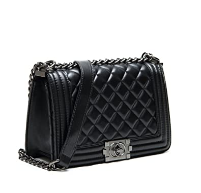 1ecdaf4504060c S Lady Design Fashion Women Career OL handbag plaid chain bag shoulder bag  fashion street Bags