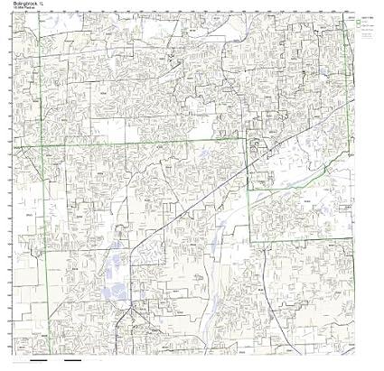 Amazon.com: Bolingbrook, IL ZIP Code Map Not Laminated: Home & Kitchen
