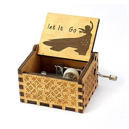 FOONEE Caja de Música Harry Potter, Cajas de Música Pequeñas para Mujeres/Niñas /