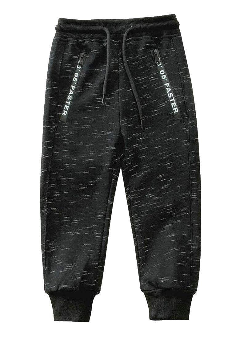 Lutratocro Big Boys Slim Fit Sport Jogger Casual Sweatpants Pants