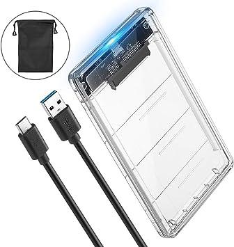 POSUGEAR USB C Carcasa Disco Duro 2.5