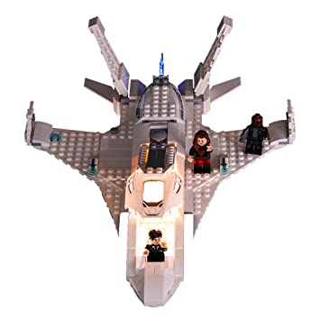 POXL Conjunto de Luces per Jet Stark y el Ataque del Dron, Kit de ...