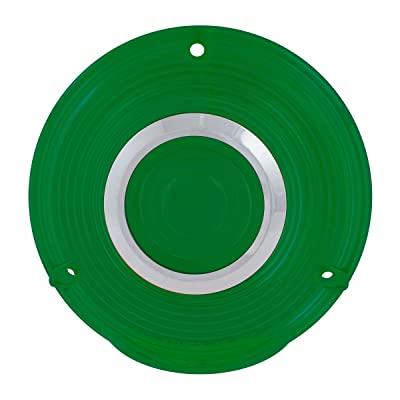 GG Grand General 86722 4 inches 3 Screw Green Plastic Lens w/Cr. Rim: Automotive