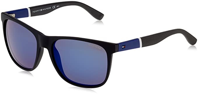 Tommy Hilfiger TH 1281/S XT, Gafas de Sol Unisex-Adulto, BK