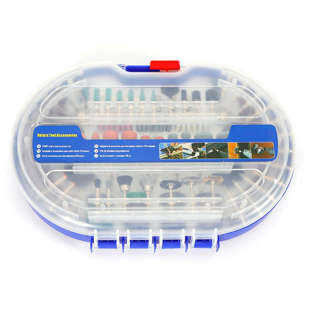 276 Pcs Grinding Head Sandpaper Ring Rotary Tool Bits Set Wood Polishing Cutting Abrasive Tools Kits - - Amazon.com