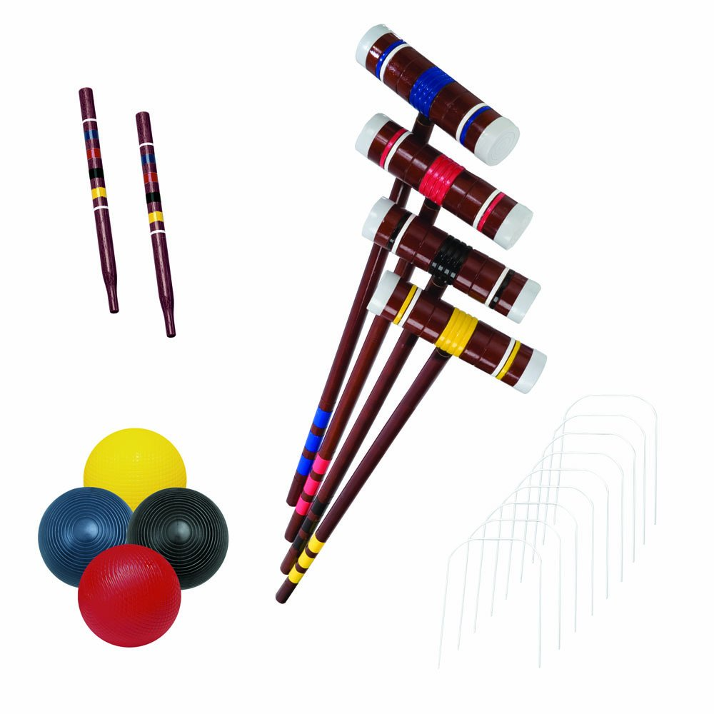 Franklin Sports Recreational 4 Player Croquet Set by Franklin Sports