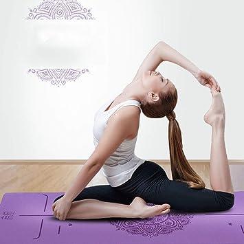 HJUN Sistema Muy Gruesa Estera De Ejercicio Mat Yoga ...
