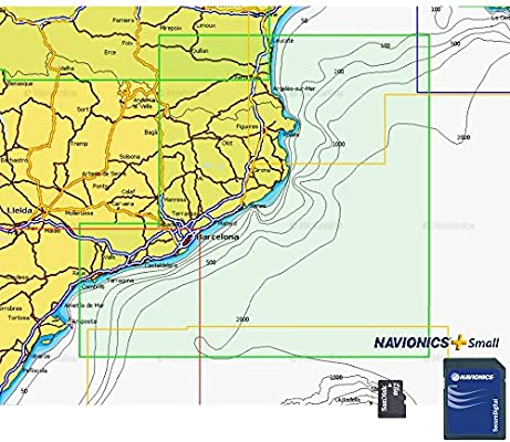 Navionics Gold Small 542 - Barcelona: Amazon.es: Electrónica