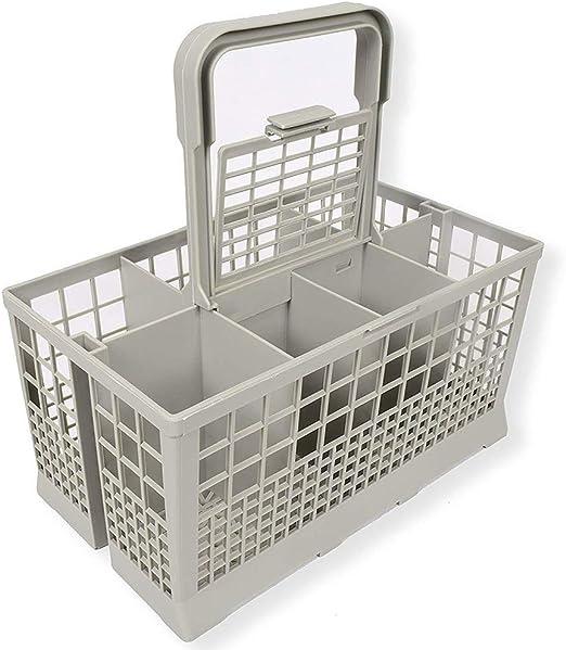 feeilty Cesto Universal portacubiertos para lavavajillas, Cesto de vajilla Universal para lavavajillas Portátil para Cubiertos Vajilla Tenedor Cuchara: Amazon.es: Hogar