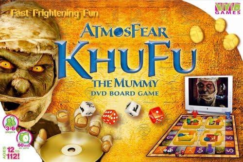 VIVID GAMES ATMOSFEAR KHUFU THE MUMMY GIOCO DA TAVOLO CON DVD ...
