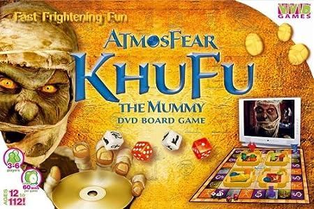 VIVID GAMES ATMOSFEAR KHUFU THE MUMMY GIOCO DA TAVOLO CON DVD: Amazon.es: Electrónica