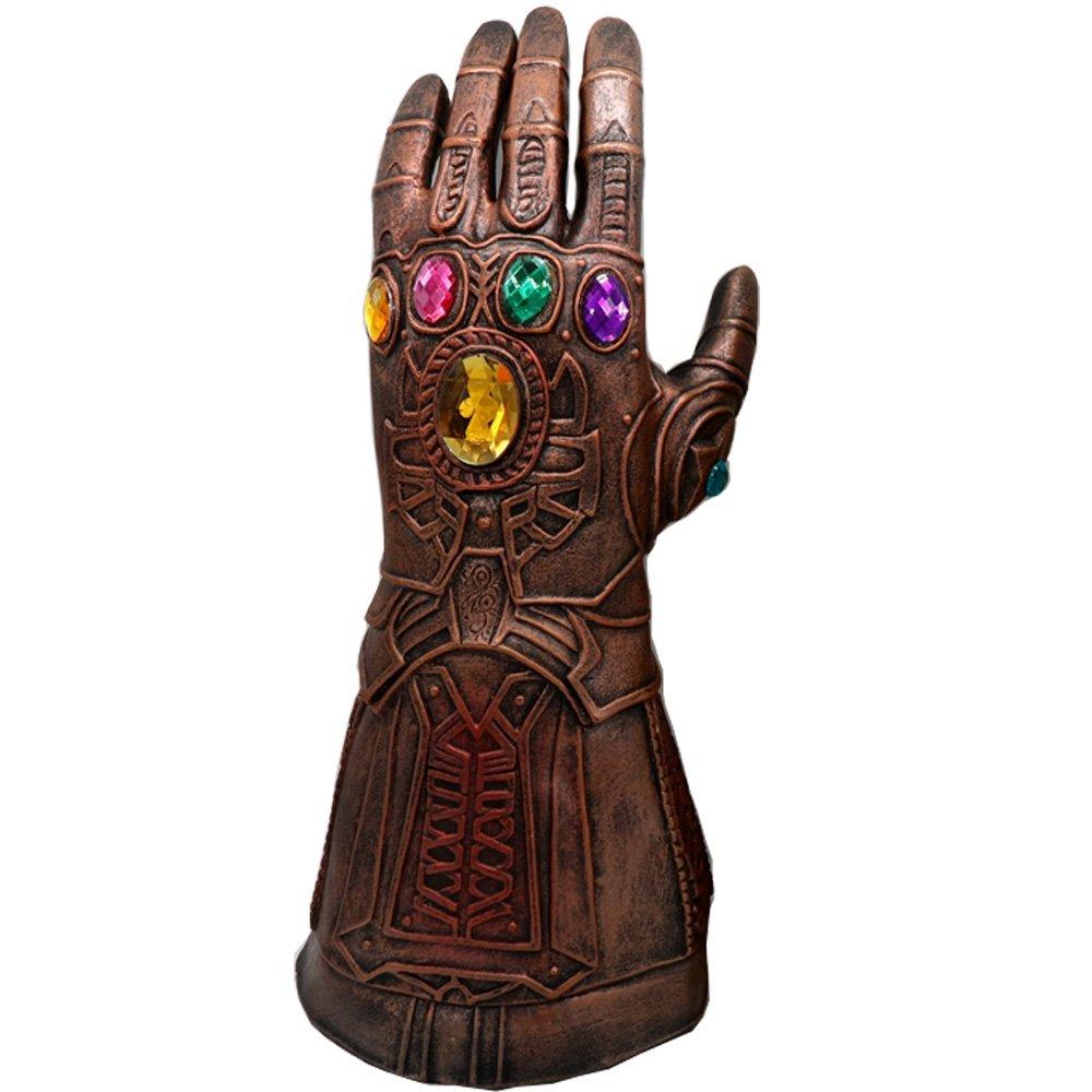 baellerry Halloween Costume Infinity War Thanos Infinity Gauntlet Gloves (Bronze)