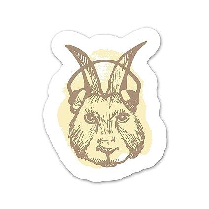 Amazon.com: Ninja Pickle Rabbit with Headphones Decal for ...