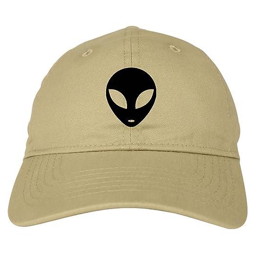 Kings Of NY Alien Head 6 Panel Dad Hat Cap Beige at Amazon Men s ... b6d09429d7a