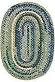 Hearth Braided Area Rug, 5'x7', FRENCH COUNTRY