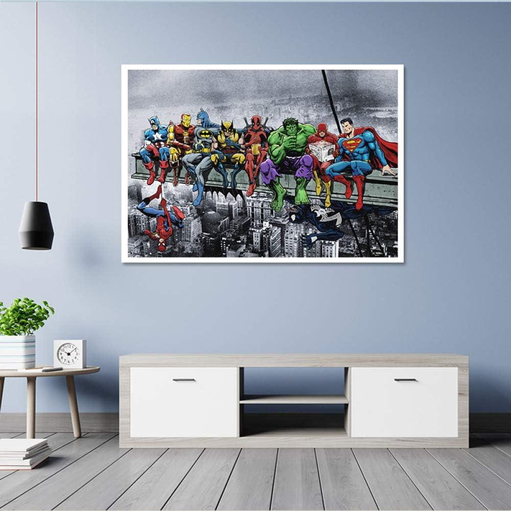 baodanla Sin Marco Modern Wall Art decoración del hogar Pintura A1 60X90CM: Amazon.es: Hogar