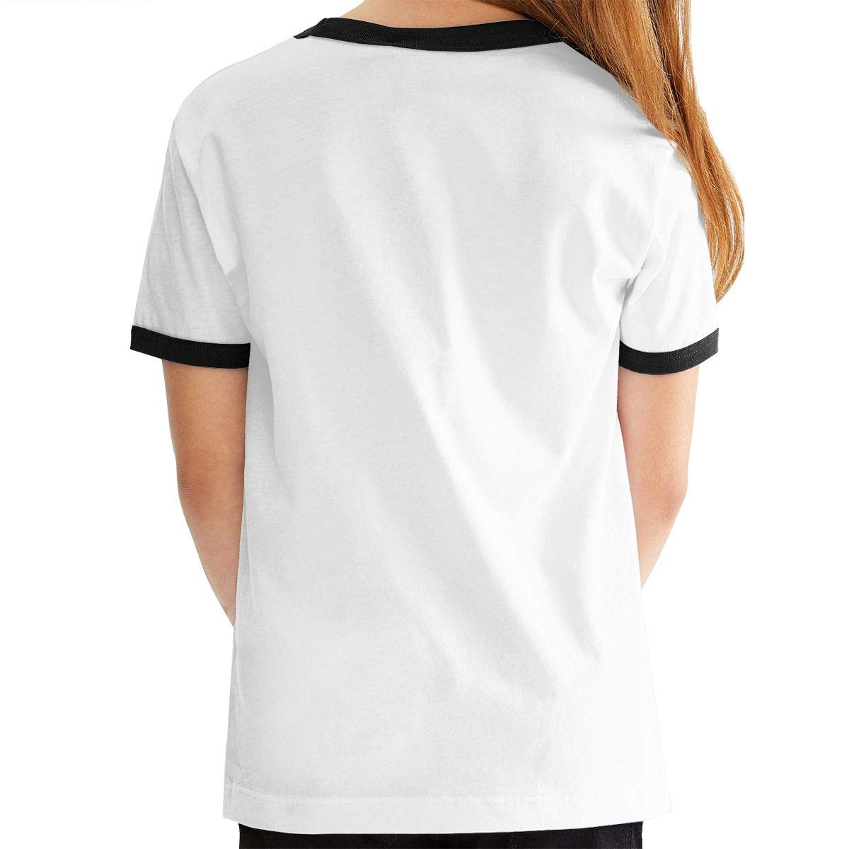 Angkella Surfer Monkey with Woodie Short-Sleeve Crew-Neck Cotton Jersey Tee for Boys Girls