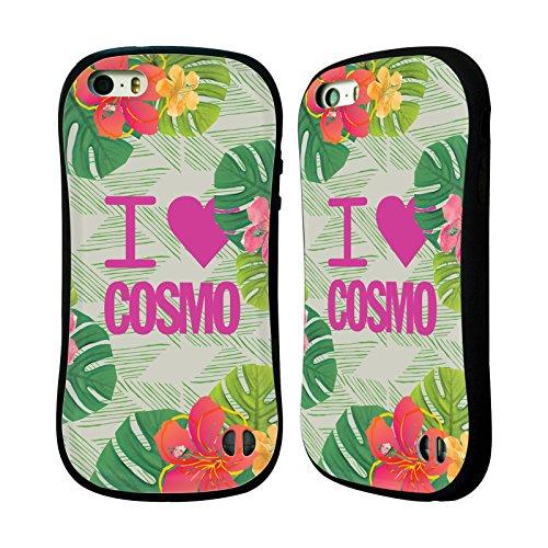 Official Cosmopolitan I Heart Tropical Hybrid Case for Apple iPhone 5 / 5s / SE