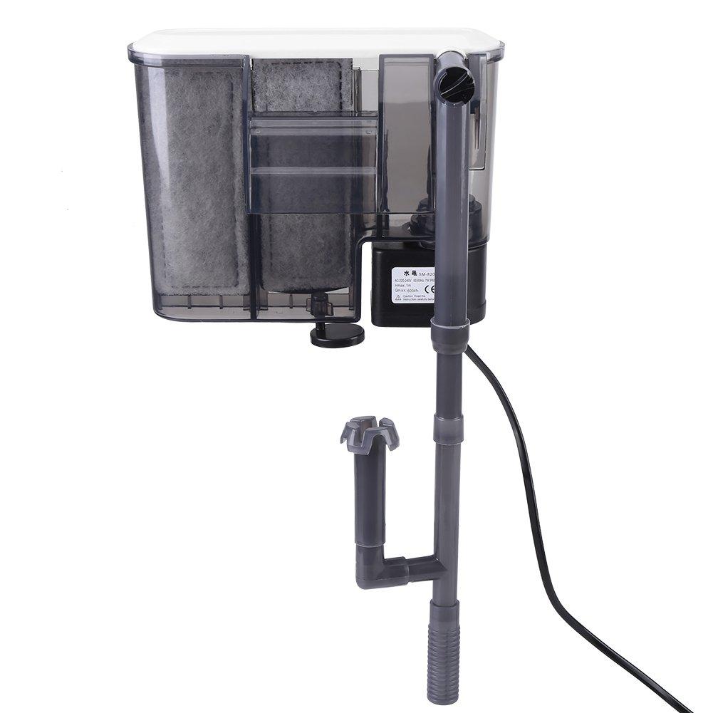 Filtro de Acuario Colgante Filtro de Tanque de Pescados Colgante Filtro de Poder Tanque de Pescados para Sistema de Circulación de Agua(EU Plug): Amazon.es: ...