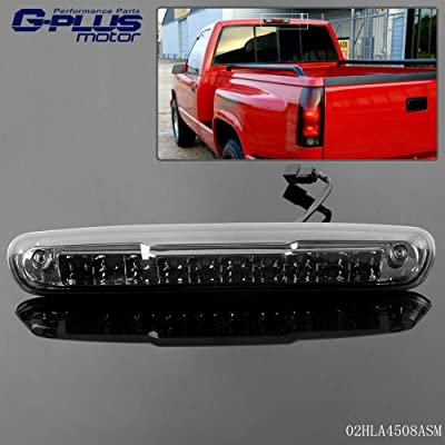 Smoke LED 3rd Third Brake Light High Mount Cargo Lamps For 07-13 Chevy Silverado GMC Sierra 1500 2500 3500: Automotive