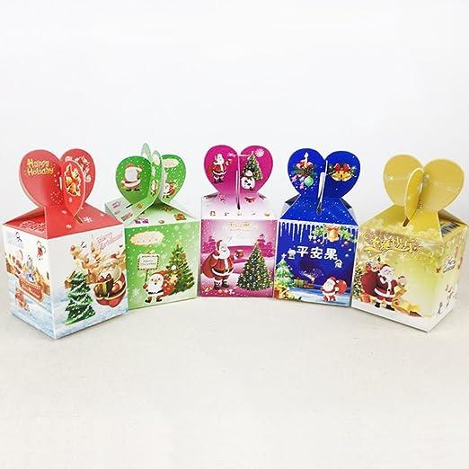 Caja de Regalo para Dulces de Caramelos o Galletas, 12 Unidades ...