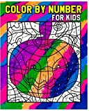 Color By Number for Kids: Coloring Is Fun (Jumbo Coloring book) +Super Fun Stories For Kids