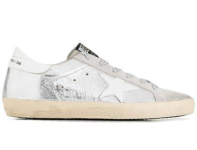 Golden Goose Silver & Grey Skate Superstar Sneakers SdGnQr