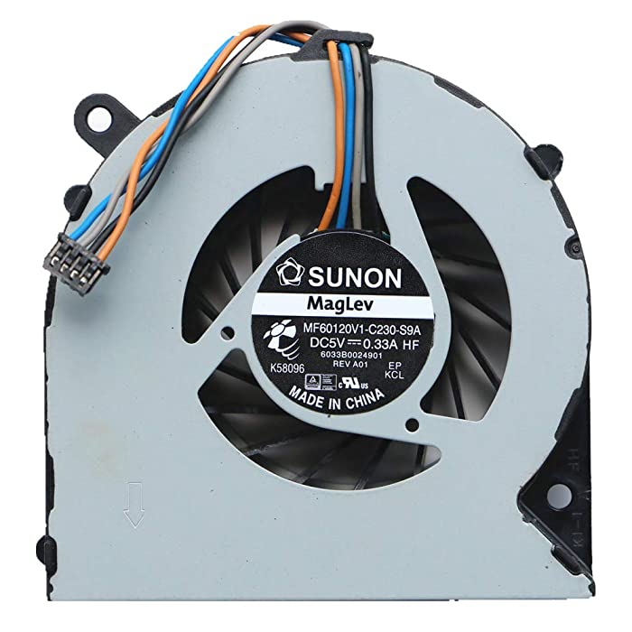 Laptop CPU Cooler Fan for HP ProBook 4330S 4331S 4430S 4431S 4435S 4436S CPU Cooling Fan MF60120V1-C230-S9A DC5V 0.33A 6033B0024901 646358-001