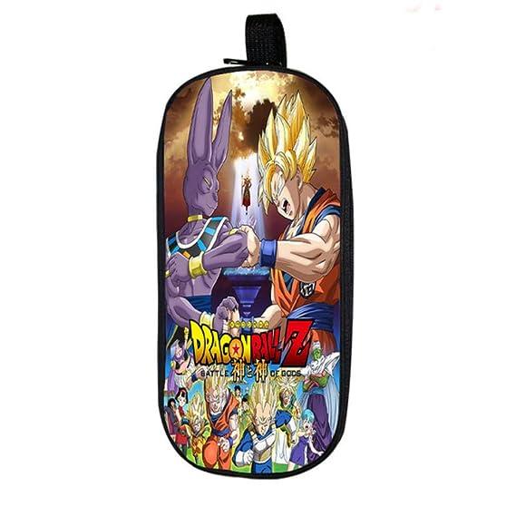 Twhoixi Dragon Ball Vegeta Estuche de lápices Goku Niños ...