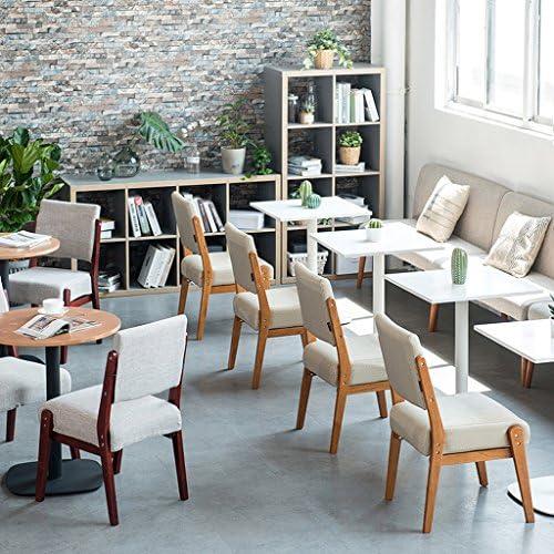 Chaise de salle à manger SLL en bois massif, chaise de canapé, chaise de bureau moderne (couleur : A)