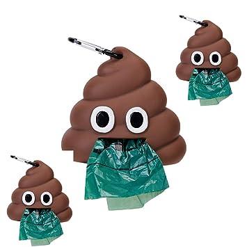 Bolsas de Caca de Perro Biodegradables con Dispensador Juego ...