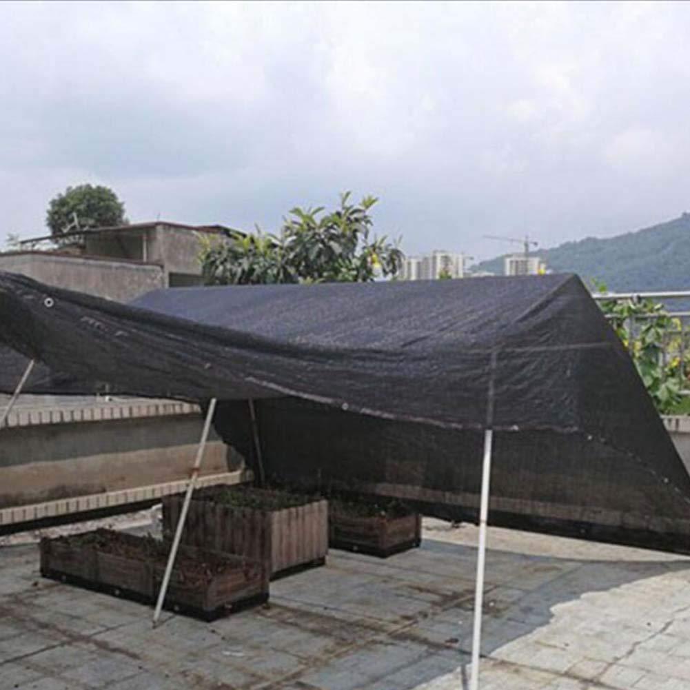 Schatten-Segel-Schatten-Stoff-Verschalungs-Netz Sun-Matten-Anti-Altern-landwirtschaftliches Gewächshausschwarznetzbalkon-Isolierungsnetzrand Im Freien Haiming  (Farbe   SCHWARZ, größe   Haiming 3  8) 8f14cc