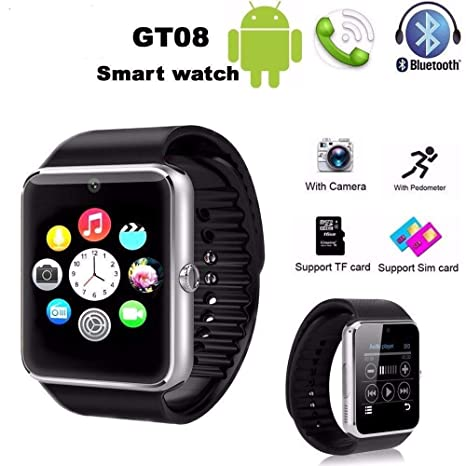 Trade Shop - Smartwatch GT08 Reloj Teléfono Móvil Bluetooth ...