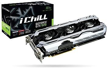 Inno3D iChill GeForce GTX 1070 X3 V2 - Tarjeta gráfica ...