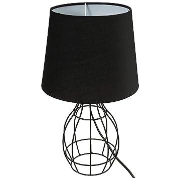 Maison NoirCuisineamp; Poser À Ronde Decoratie Filaire Lampe nw0vN8m