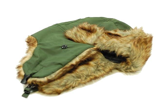 Para hombre o mujer verde oscuro Trapper sombrero 41446a772ae