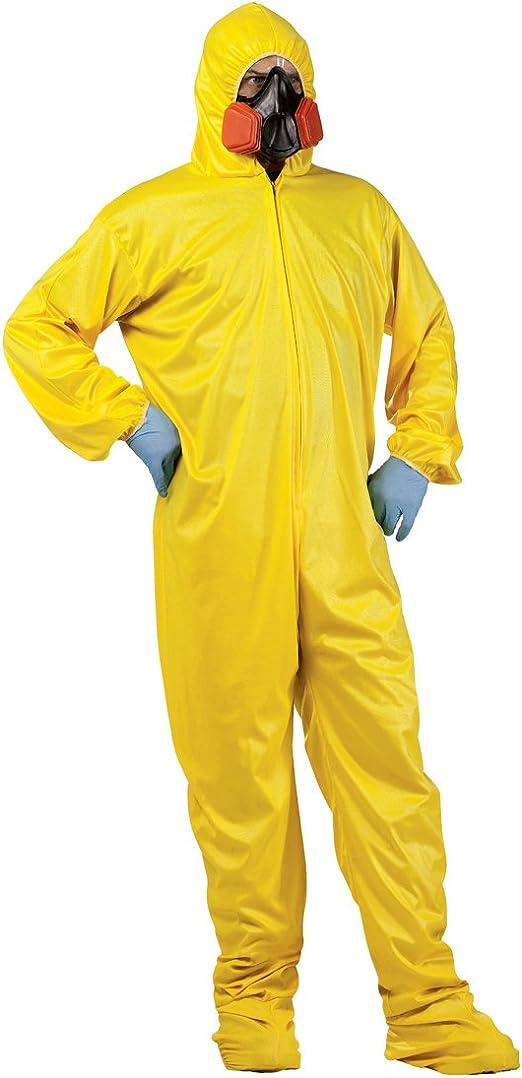 Breaking Bad amarillo traje de Hazmat disfraz para adulto Walter ...