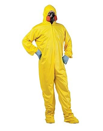 Breaking Bad amarillo traje de Hazmat disfraz para adulto ...