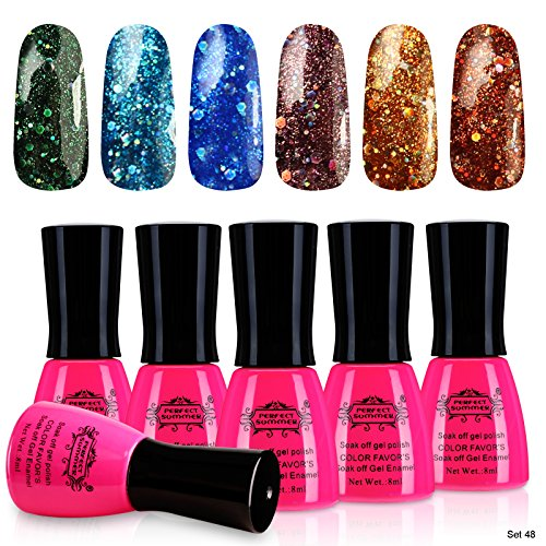 Perfect Summer UV Led Light Soak Off Nails Enamel Polsih Gli