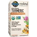 Garden of Life Mykind Organics Extra Strength Turmeric Inflammatory Response 120 Tablets-100Mg Curcumin (95% Curcuminoids) Bl