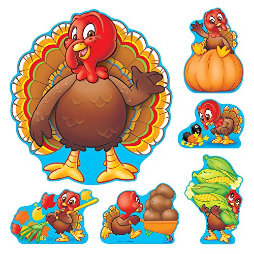 TREND enterprises, Inc. Turkey Time Bulletin Board - Time Turkey