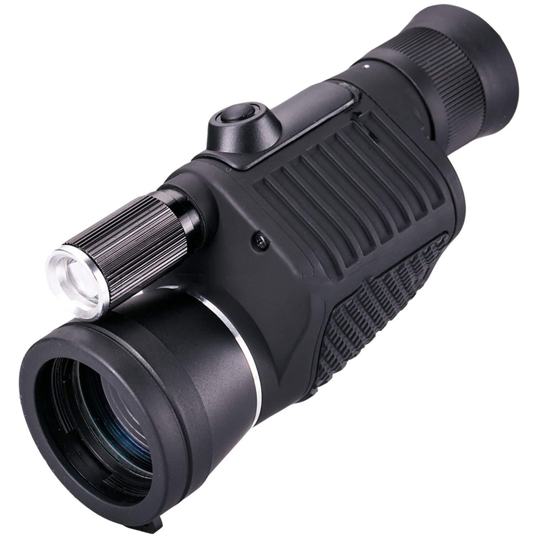 ピント合わせ、単眼、8x40、高精細、低照度ナイトビジョン、懐中電灯、屋外 B07KW23MSZ