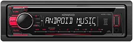 Kenwood Receptor ubicado entrada Negro